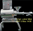 Angel juicer commercial juicer model AG 140K max 110-120 Voltage is the newest of the Angel juicer models with all minor and major improvements. To ...